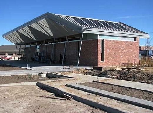 Greensburgs green new City Hall
