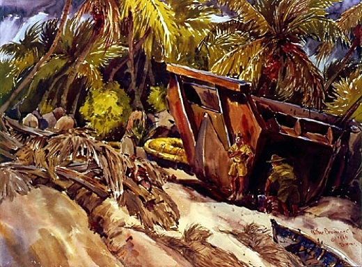 decimated Bikini Atoll.