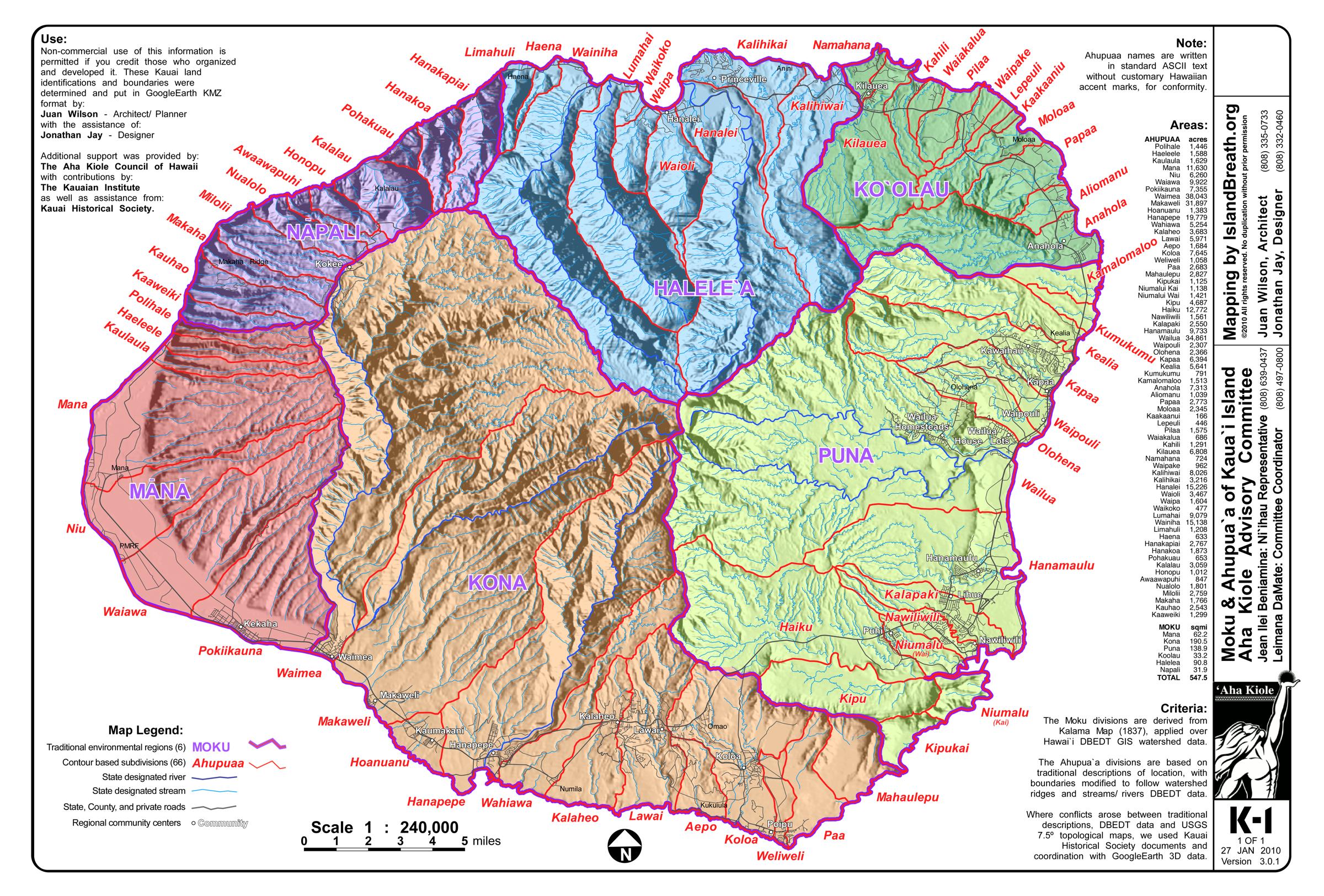 Ea O Ka Aina Kauai Aina Mapping