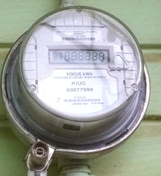 Image Above A Smart Focus Meter Now Being Installed By Kiuc It Is Manufactured Landis Gyr This One Already On Kauai