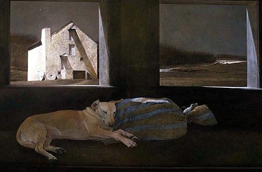 Night Sleeper by Jamie Wyeth