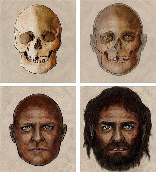 Did The Romans Have Blue Face Paint