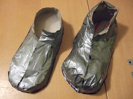 I Was Thinking Of Duct Tape Shoes For Inside The House