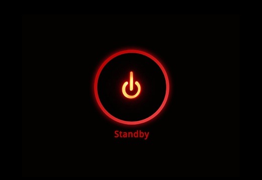 how to put tv in standby mode