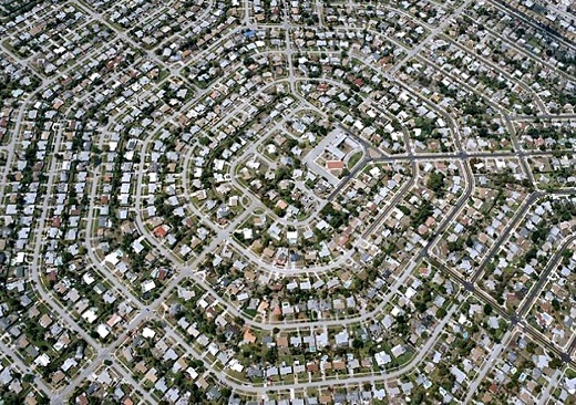 Image Above The Grid We Live In Looks Much Like A Circuit Board Matrix No Its Suburban Sprawl Eden Prairie Florida