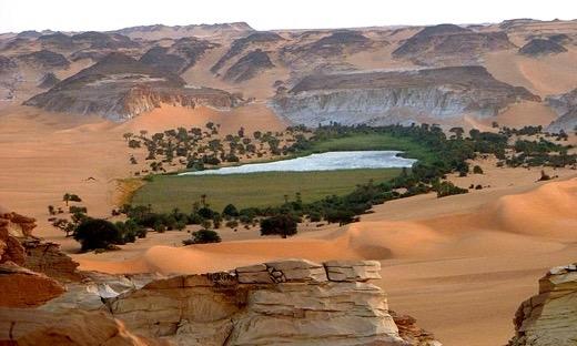 Ea O Ka Aina: Oases on a future Eaarth Oasis Geography