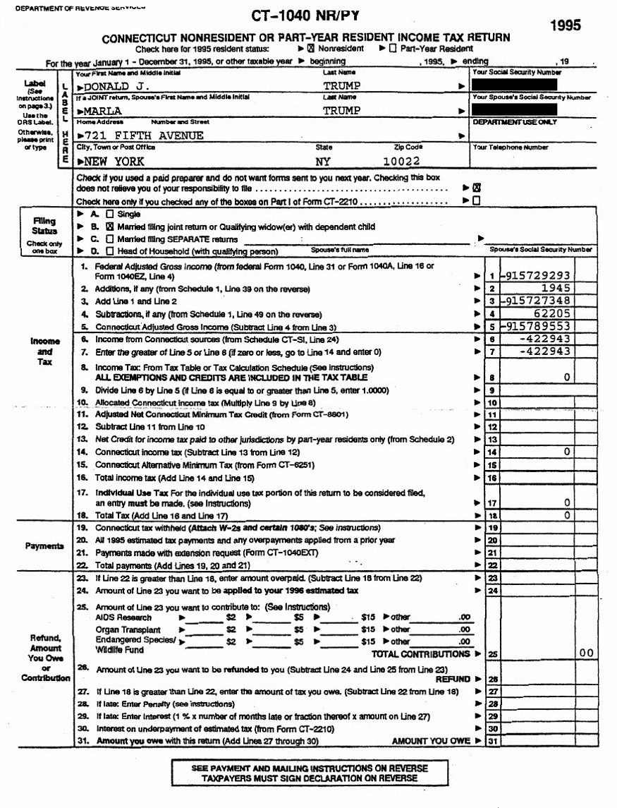 What is the IT-201 tax form?